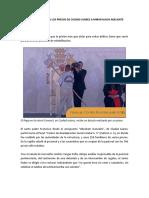 Mensaje del Papa Francisco a los presos en México