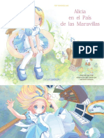 Alicia en el país de las maravillas, ilustrado por POP y adaptado por Michiyo Hayano