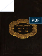Dowling's Reply to Miller by John Dowling 1840