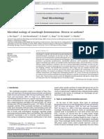 Microbial ecology of sourdough fermentations