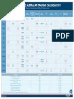 Runge Limited Training Calendar 2011