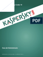 Manual Kaspersky Endpoint 10
