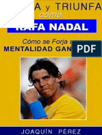 Perez Joaquin - Piensa Y Triunfa Como Rafa Nadal