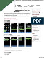 Configurer Nokia C7 Parametre Internet