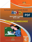 Teacher's Guide Year 3 SK & SJK