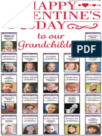 Happy Valentine's Day to our Grandchildren