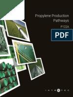 Propylene Production Pathways
