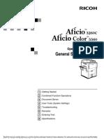 Ricoh Aficio Color 5560 Users Manual 274512