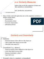 LECTURE02 03 SimilarityMetrices DataVisualization