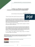 Gómez, J. (2010). Pedagogía Intercultural. Un Eufemismo Para Tranquilizar Conciencias o Una Alternativa Para La Transformación
