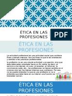 Etica Profesional de Los Negocios... Ppt
