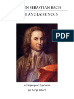 Bach Suite Anglaise no. 3