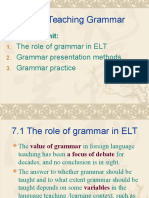 Unit 7 Teaching Grammar