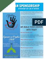 Yatima Sponsorship Zanzibar