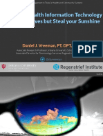 2016 02 11 - Why Using Health Information Technology Might Save Lives but Steal your Sunshine