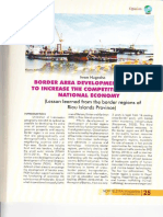 Border area development in order to increase the competitiveness of national economy
