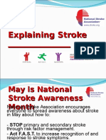 SAM Stroke Community Presentation Guide
