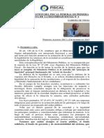 Informe de Gestión Fiscal De Vedia