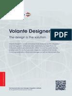 Volante Designer - Datasheet