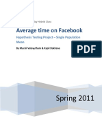 ht avg time on fb