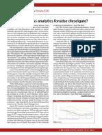 Kunne Business Analytics Forudse Dieselgate