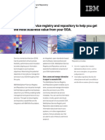 IBM - WebSphere Service Registry and Repository