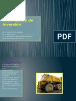 Alternativas de Inversión Metodos