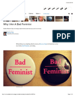 Why I Am a Bad Feminist Article
