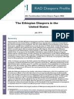 The Ethiopian Diaspora in the United States