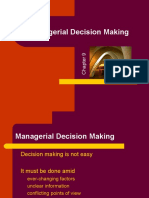 Managerial Decision Making