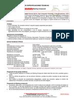 ESP TE 017 TermoBacking Backing Compound Deta