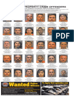 Most wanted property crime offenders,  Feb 2016