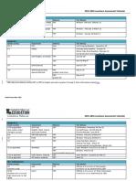 2015-16 Louisiana Assessment Calendar