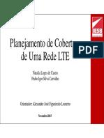 Planejamento de Cobertura de Uma Rede LTE