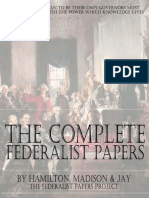 The Complete Federalist Papers