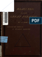 New Measures of the Great Pyramid by C. Piazzi Smyth, 1884