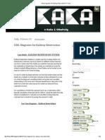 UML Diagrams for Railway Reservation