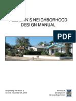 Feldmans Neighborhood Design Manual