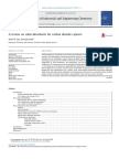A Review on Solid Adsorbents for Carbon Dioxide Capture 2015 Journal of Industrial and Engineering Chemistry