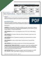 HCM Auto Extrication Resolutions - Feb 19,2016