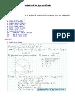 Actividad de Aprendizaje-N° 03 La circunferencia.