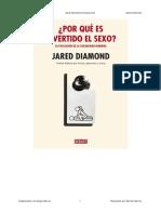 Por Que Es Divertido El Sexo - Jared Diamond