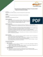 Estrategias para la Prevención del Consumo problemático de drogas en Escuelas de Nivel Medio de la Provincia de Córdoba.