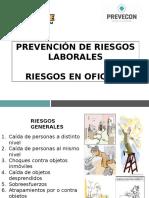 Capacitación-riesgos en Oficinas-planta-gestion de Residuos