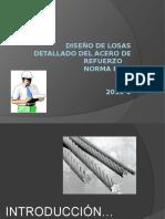 Parámetros de acero