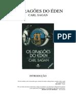 Os Dragoes Do Eden - Carl Sagan