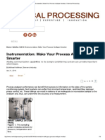 Instrumentation_ Make Your Process Analyzer Smarter _ Chemical Processing