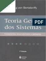 Von Bertalanffy - Tapa y Referencia