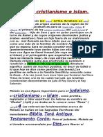 Judaismo Cristianismo e Islam