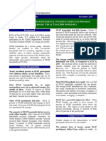 Characteristics of SNAP Households 2014 Summary
